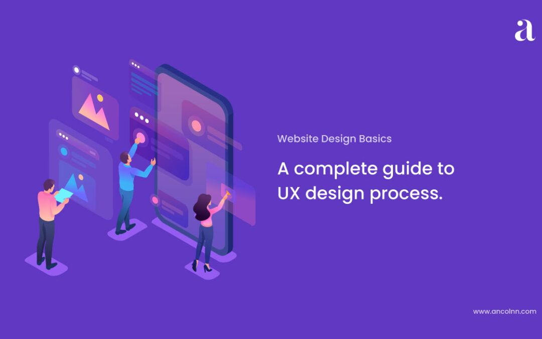 A complete guide to UX design process